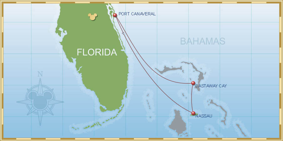 3-Night Very MerryTime Bahamian Cruise B3 | Port Canaveral ...